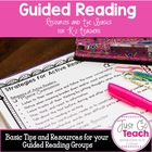 Guided Reading Group Information Packet Resources for K-2