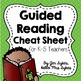 Guided Reading Guide for Grades 1-5 Cheat Sheet