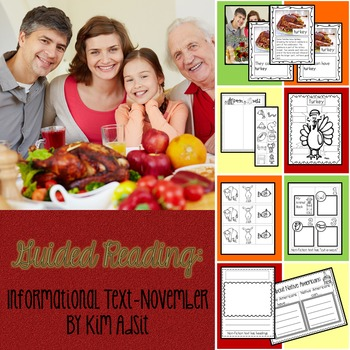 Guided Reading - Informational Text - November by Kim Adsit