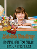 Guided Reading - Informational Text - Unit 3-9 Bundle by K