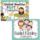 Guided Reading {Kindergarten} BUNDLE