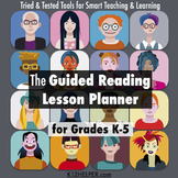 Common Core Guided Reading Lesson Plans Template: K-5 w/ d