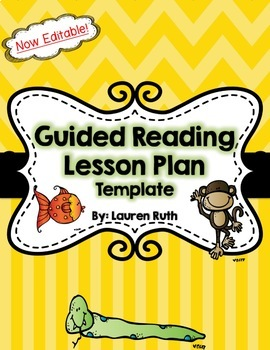 Guided Reading Lesson Template