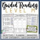 Guided Reading Level M Teacher Packet:  Just add the Books