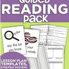 Guided Reading Pack (Lesson Plans, Strategy Posters &amp; Runn