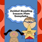 Guided Reading Planning Template - Helpful Organizer!