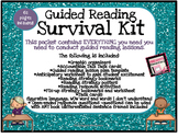 Guided Reading Survival Kit - Graphic Organizers - Questio