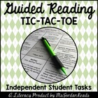 Guided Reading Tic-Tac-Toe {Student Board &amp; Activity Packet}