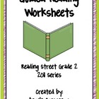 Guided Reading Worksheets Unit 2, Reading Street, Grade 2,