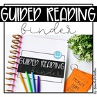 Guided Reading and Conference Binder Packet