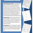 Guided Reading and Running Record Forms