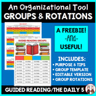 FREE Guided Reading and the Daily 5 in the Intermediate Gr