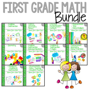 Guiding Firsties: Math Workshop BUNDLE