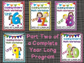 Guiding Kinders: Math Units Bundle 6-10