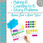 Guiding Kinders:  Math Workshop Unit 3 { Common Core Aligned }