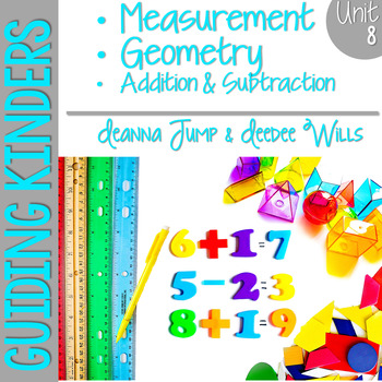 Guiding Kinders:  Math Workshop Unit 8 { Common Core Aligned }