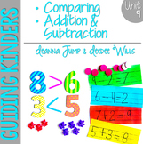 Guiding Kinders:  Math Workshop Unit 9 { Common Core Aligned }
