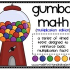 Gumball Math {Multiplication Edition}
