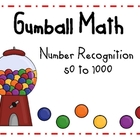 Gumball Math Number Recognition 50-1000