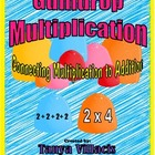 Gumdrop Multiplication - Connecting Multiplication to Addition
