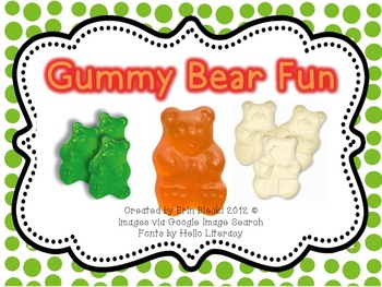 Gummy Bear Fun