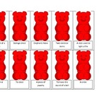 Gummy Bear Multiple Meanings Activity