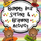 Gummy Bear Sorting &amp; Graphing Activity