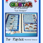 Gustar Spanish Verb MagnetMat Fun