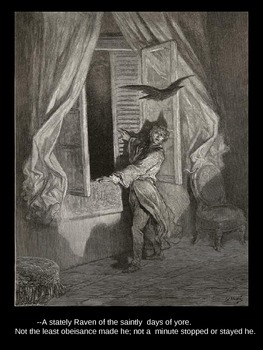 Gustave Dore Illustrations for Poe's The Raven