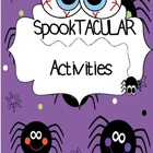 ON SALE NOW!!!!      HALLOWEEN  Activity Pack!!!   **New a