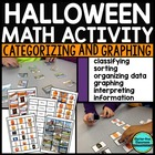 HALLOWEEN CATEGORIZING & GRAPHING DATA ACTIVITIES {Common