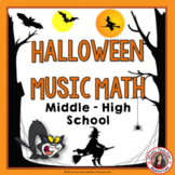 HALLOWEEN Music Math