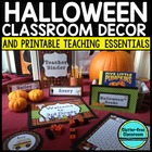 HALLOWEEN Theme EDITABLE Classroom Essentials-34 Printable