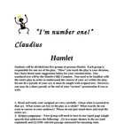 HAMLET - Student Taught