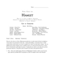 HAMLET Video Guide