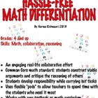 HASSLE-FREE DIFFERENTIATED MATH LESSON PLAN: ENGAGING! COM
