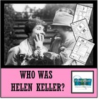 HELEN KELLER: Famous American Mini Unit