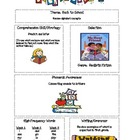 HM First Grade Back to School Theme Mini Focus Wall