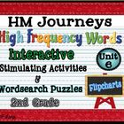 HM Journeys 2nd Grade High Frequency Words Interactive Act