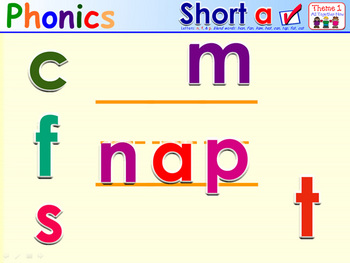 HMR Grade 1 Theme 01 Phonics - Interactive Activity - PowerPoint