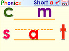 HMR Grade 1 Theme 01 Phonics - Interactive Activity - SMARTBOARD