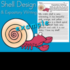 HMR Grade 1 Theme 05 Story 1 - Shell Design and Writing Activity
