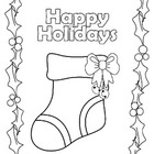 HOLIDAY COLORING BOOK - With a purpose!