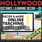 HOLLYWOOD THEME BUNDLE-classroom theme {printables)