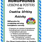HOMOPHONES: Common Core Aligned Lessons, Worksheets, and B