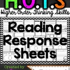 HOTS Reading Response Sheets {second edition}