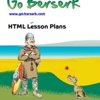 HTML web site lesson plans