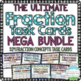 HUGE Fractions Concepts Bundle { 256 Common Core Aligned F