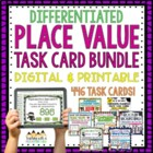 *HUGE* Place Value Task Cards BUNDLE { Common Core & Diffe