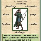 HUNGER GAMES Novel Unit: Chapter Responses, Tests, &amp; Enrichment
